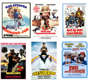 Bud Spencer und Terence Hill Digital