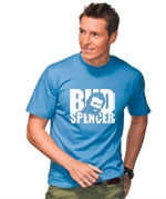 Neues Bud Spencer Fan Shirt im August